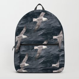 Seagulls over waves Backpack