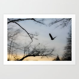 My Friend, The Eagle Art Print