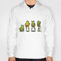teenage mutant ninja turtles Hoodies featuring Teenage mutant ninja turtles by Nioko