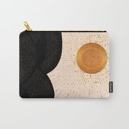 Rays of Love - Golden Glow Carry-All Pouch