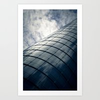 The flying Tower Art Print
