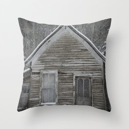 Miners Cabin, Colorado Throw Pillow