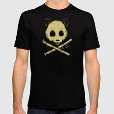 The Jolly Panda Mens Fitted Tee Black MEDIUM