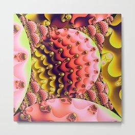Inversion of the Spheres Metal Print