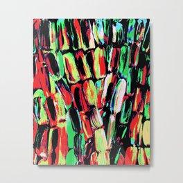 Fiesta Sugarcane Metal Print