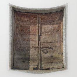 OLD DOOR 01 Wall Tapestry