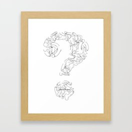 What Is Normal? Framed Art Print