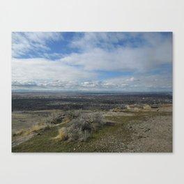 Boise Overlook Canvas Print