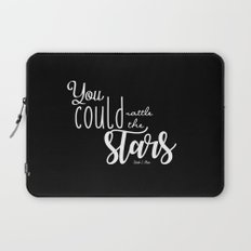 you could rattle the stars (black) Laptop Sleeve