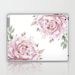 Pink Roses Duet Laptop & iPad Skin