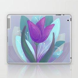 Tulip and Lotus Blossom Laptop & iPad Skin