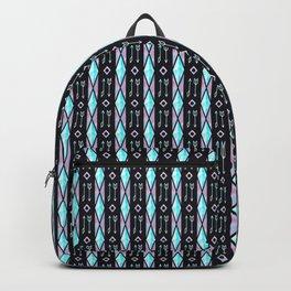 Black Arrow Boho Pattern Backpack