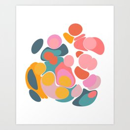 Colorful Abstract Design Art Print