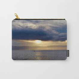 Paddle into the Sunset Carry-All Pouch