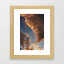 Grand Clouds Framed Art Print