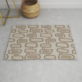 Dangling Rectangles in Brown Rug