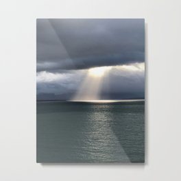 Alaskan light Metal Print
