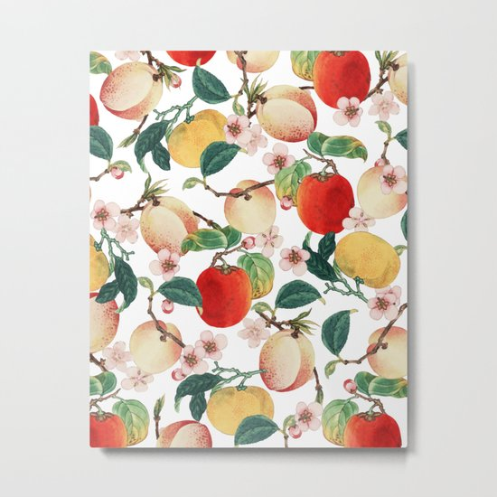Fruity Summer #society6 #decor #buyart Metal Print