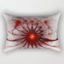Crown of Thorns - Abstract Fractal Artwork Rectangular Pillow