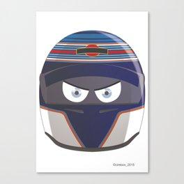 VALTTERI BOTTAS_2015_HELMET #77 Canvas Print
