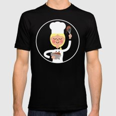 It's Whisk Time! Mens Fitted Tee Black MEDIUM