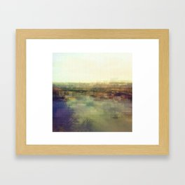 Lock & Dam No. 1 Framed Art Print