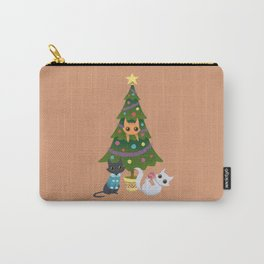 Meowy Christmas Carry-All Pouch