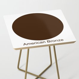 American Bronze Side Table