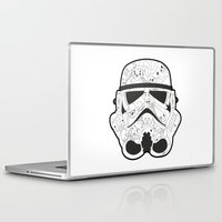 stormtrooper Laptop & iPad Skins featuring Stormtrooper by Santos
