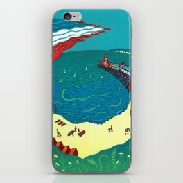 Red Arrows, Bournemouth iPhone Skin