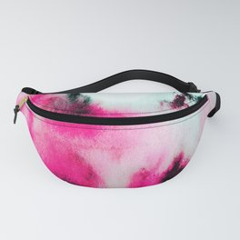 Watercolor stains Fanny Pack