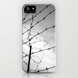 hiddenplaces_wire iPhone Case