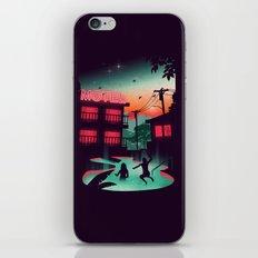 Night Swim iPhone & iPod Skin