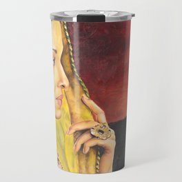 Indian Woman Travel Mug