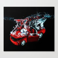 mustang Canvas Prints featuring Mustang by Conor O'Mara