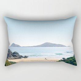Waiting for the waves Rectangular Pillow