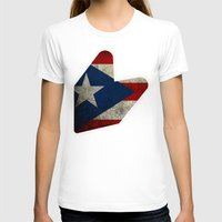 puerto rico T-shirts featuring JDM puerto rico FLAG by designbook