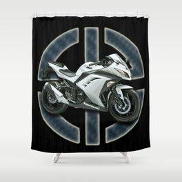 Ninja-Super Machine Shower Curtain