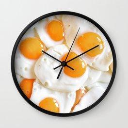 An Eggsellent Breakfast Wall Clock