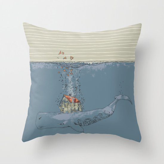 Ocean Home Throw Pillow