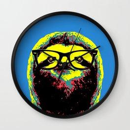 Warhol Slot Wall Clock