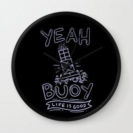 Funny Water-Sports Buoy Wall Clock