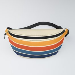 Classic Retro Stripes Fanny Pack