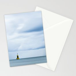 Sea, Lighthouse & Stormy clouds Stationery Cards
