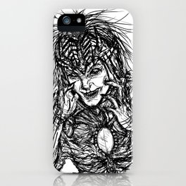 The Art of Insanity iPhone Case
