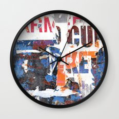 Collide 2 Wall Clock