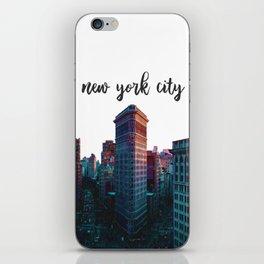 New York City Flatiron Building iPhone Skin