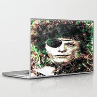 david bowie Laptop & iPad Skins featuring BOWIE by Vonis