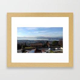 Lake of Varese Framed Art Print