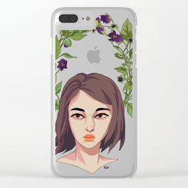 Belladonna Clear iPhone Case